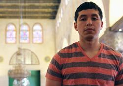 Vargus inside Al-asqa mosque.