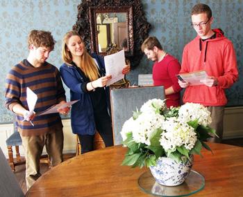 350 Daniel Craig, Annemieke Klein, Erik Kile, and Sean Scully at Goethe Haus