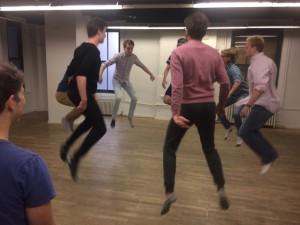 Acting Workshop with Marc Weitz (far left).