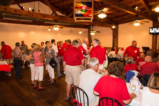 Friday night get together drew over 100 Wabash fans